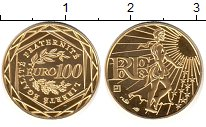 Изображение Монеты Франция 100 евро 2008 Золото Proof