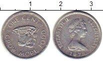 Изображение Монеты Сейшелы 1 цент 1972 Алюминий XF