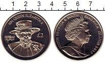 Изображение Монеты Сендвичевы острова 2 фунта 2015 Медно-никель UNC