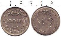 Изображение Монеты Румыния 100 лей 1943 Медно-никель XF