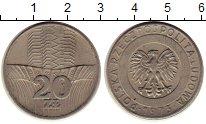 Изображение Монеты Польша 20 злотых 1973 Медно-никель XF Здание