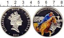 Изображение Монеты Новая Зеландия Ниуэ 1 доллар 2014 Серебро Proof