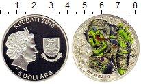 Изображение Монеты Кирибати 5 долларов 2016 Серебро Proof Мумия