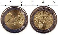 Изображение Монеты Португалия 2 евро 2007 Биметалл UNC-