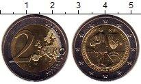 Изображение Монеты Греция 2 евро 2015 Биметалл UNC-