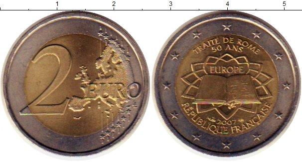 Картинка Монеты Франция 2 евро Биметалл 2007
