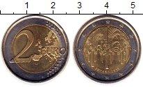 Изображение Монеты Испания 2 евро 2010 Биметалл UNC-