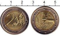 Изображение Монеты Италия 2 евро 2009 Биметалл UNC- 200-летие со дня рож
