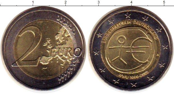 Картинка Монеты Германия 2 евро Биметалл 2012