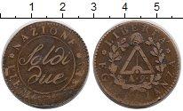 Изображение Монеты Италия Пьедмонт 2 сольди 1800 Бронза VF