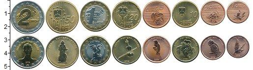 Набор монет Словения Словения 2006 2006 UNC