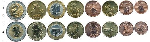 Изображение Наборы монет Сан-Марино Сан-Марино 2013 2013  UNC В наборе 8 монет ном