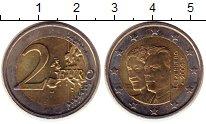 Изображение Монеты Люксембург 2 евро 2009 Биметалл UNC-