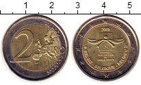 Изображение Монеты Бельгия 2 евро 2008 Биметалл UNC- 60 лет декларации пр