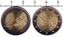 Изображение Монеты Литва 2 евро 2015 Биметалл UNC-