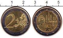 Изображение Монеты Словения 2 евро 2011 Биметалл UNC-