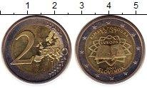 Изображение Монеты Словения 2 евро 2007 Биметалл UNC- 50 - летие  Римского