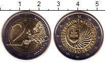 Изображение Монеты Словакия 2 евро 2016 Биметалл UNC- Председательство в Е