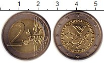 Изображение Монеты Словакия 2 евро 2011 Биметалл UNC- 20 - летие  формиров