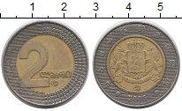 Монеты 2 лари грузии биометалл и цены 1 рубль 2005 года стоимость спмд