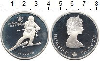 Изображение Монеты Канада 20 долларов 1985 Серебро Proof-