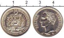Изображение Монеты Венесуэла 1 боливар 1965 Серебро UNC