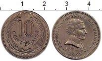 Изображение Монеты Уругвай 10 сентесим 1959 Медно-никель XF