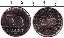 Изображение Монеты Венгрия 50 форинтов 2007 Медно-никель UNC- 50 - летие  Римского
