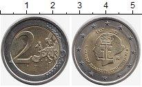 Изображение Монеты Бельгия 2 евро 2012 Биметалл UNC- 75 лет Конкурсу имен