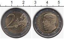 Монета Греция 2 евро Биметалл 2013 UNC- фото
