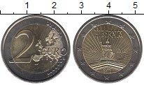 Изображение Монеты Ирландия 2 евро 2016 Биметалл UNC- 100 лет Пасхальному