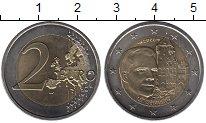 Изображение Монеты Люксембург 2 евро 2008 Биметалл UNC-