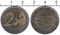 Изображение Монеты Финляндия 2 евро 2007 Биметалл UNC-