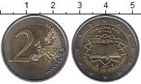 Изображение Монеты Нидерланды 2 евро 2007 Биметалл UNC-