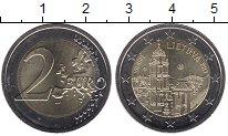 Изображение Монеты Литва 2 евро 2017 Биметалл UNC- Вильнюс - столица ку