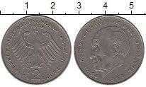 Изображение Монеты ФРГ 2 марки 1978 Медно-никель XF J  Конрад  Аденауэр