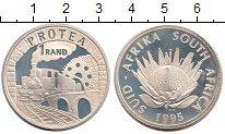 Изображение Монеты ЮАР 1 ранд 1995 Серебро Proof-