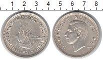 Изображение Монеты ЮАР 5 шиллингов 1952 Серебро UNC-