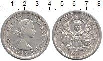 Изображение Монеты Родезия 1 крона 1953 Серебро UNC- Елизавета II.