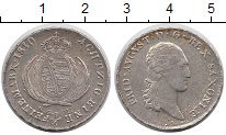 Изображение Монеты Саксония 1/6 талера 1810 Серебро XF