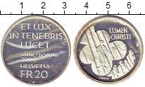 Изображение Монеты Швейцария 20 франков 2000 Серебро Proof-
