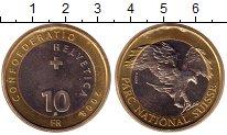 Изображение Монеты Швейцария 10 франков 2008 Биметалл UNC
