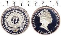 Изображение Монеты Австралия 5 долларов 2000 Серебро Proof-
