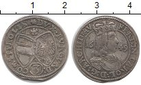 Изображение Монеты Тироль 3 крейцера 1649 Серебро XF