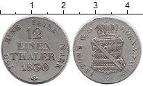 Изображение Монеты Саксония 1/12 талера 1830 Серебро XF Антон.