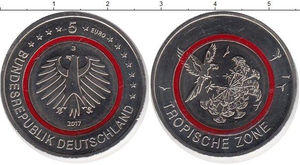Картинка Подарочные монеты Германия 5 евро Медно-никель 2017