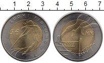 Изображение Монеты Финляндия 5 евро 2005 Биметалл UNC ЧМ по легкой атлетик