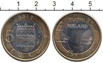 Изображение Монеты Финляндия 5 евро 2012 Биметалл UNC Исторические области