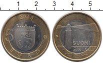 Изображение Монеты Финляндия 5 евро 2013 Биметалл UNC Исторические области