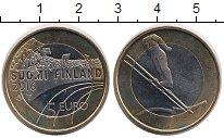 Изображение Монеты Финляндия 5 евро 2016 Биметалл UNC Прыжки с трамплина н